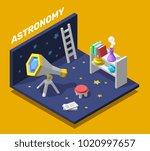 vector creative colorful... | Shutterstock .eps vector #1020997657