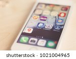 minsk  belarus  february 9 ...   Shutterstock . vector #1021004965