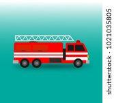 Fire Engine Firefighter Truck...