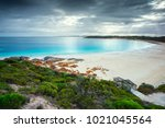 dolphin bay  south australia | Shutterstock . vector #1021045564