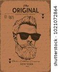 vector original print | Shutterstock .eps vector #1021072864