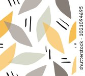 seamless pattern with abstract... | Shutterstock .eps vector #1021094695