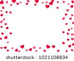 heart frame for valentines day... | Shutterstock .eps vector #1021108834