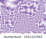 abstract violet background with ... | Shutterstock .eps vector #1021121965