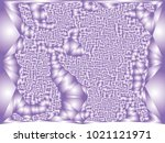 abstract violet background with ... | Shutterstock .eps vector #1021121971