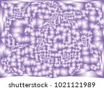 abstract violet background with ... | Shutterstock .eps vector #1021121989