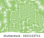 abstract green background with... | Shutterstock .eps vector #1021123711
