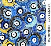 seamless vinyl records...   Shutterstock .eps vector #1021132639