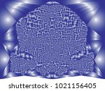 abstract background with... | Shutterstock .eps vector #1021156405