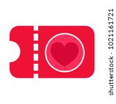 heart vector icon | Shutterstock .eps vector #1021161721