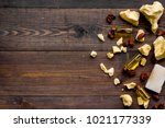 homemade soap with cocoa butter.... | Shutterstock . vector #1021177339