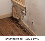 Water Damaged Interior Wall In...