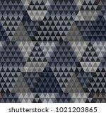 seamless triangle pattern....   Shutterstock .eps vector #1021203865