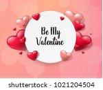 2018 valentine's day background ...   Shutterstock .eps vector #1021204504