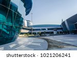 doha  qatar   january 12  2018  ... | Shutterstock . vector #1021206241