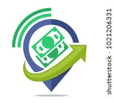 logo icon for communication... | Shutterstock .eps vector #1021206331