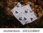 kid tube scarf | Shutterstock . vector #1021218865