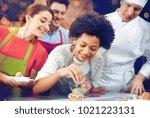 cooking class  culinary  bakery ... | Shutterstock . vector #1021223131