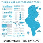 tunisia map   detailed info... | Shutterstock .eps vector #1021246699