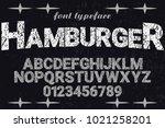 vintage font typeface...   Shutterstock .eps vector #1021258201