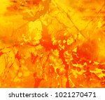 abstract painting. ink handmade ... | Shutterstock . vector #1021270471