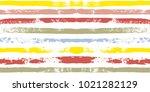 paint lines seamless pattern.... | Shutterstock .eps vector #1021282129