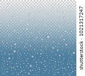 vector water drops on glass....   Shutterstock .eps vector #1021317247