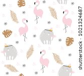 Cute Pastel Seamless Pattern...