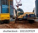 tel aviv israel february 8 2018 ... | Shutterstock . vector #1021329529