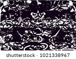 distressed background in black... | Shutterstock .eps vector #1021338967
