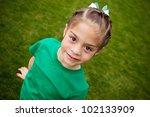 cute little girl  selective... | Shutterstock . vector #102133909