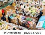 milan  italy   november 5th ... | Shutterstock . vector #1021357219