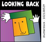 simple signman says...cute... | Shutterstock .eps vector #102138529