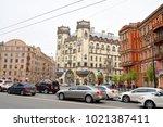 st.petersburg  russia   27 may... | Shutterstock . vector #1021387411