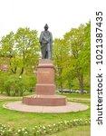st.petersburg  russia   27 may... | Shutterstock . vector #1021387435