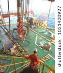 An Engineer Walks Down Steep...