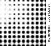 halftone black and white... | Shutterstock .eps vector #1021433899