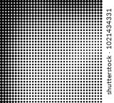 halftone black and white... | Shutterstock .eps vector #1021434331