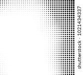 halftone black and white... | Shutterstock .eps vector #1021434337