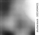 halftone black and white... | Shutterstock .eps vector #1021434421