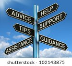 advice help support and tips... | Shutterstock . vector #102143875
