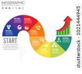 vector infographic design... | Shutterstock .eps vector #1021444945