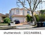 modern custom made houses and... | Shutterstock . vector #1021468861