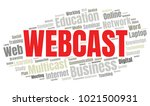 webcast or web conference word... | Shutterstock .eps vector #1021500931