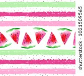 watercolor seamless pattern...   Shutterstock . vector #1021509565