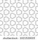 seamless ornamental vector...   Shutterstock .eps vector #1021520035