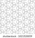 seamless ornamental vector... | Shutterstock .eps vector #1021520059