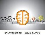 problem solution concept...   Shutterstock .eps vector #102156991