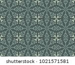 arabic deco motif for a... | Shutterstock .eps vector #1021571581