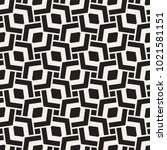 geometric ornament with striped ... | Shutterstock .eps vector #1021581151
